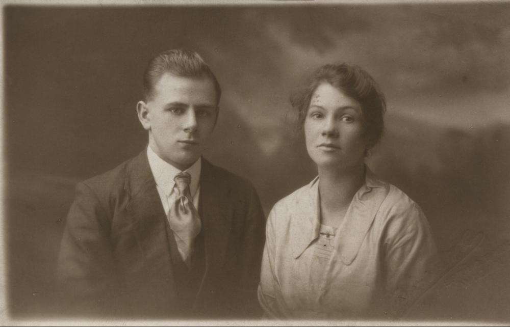 JOSEPH. H. JAYNE AND HIS WIFE EDITH