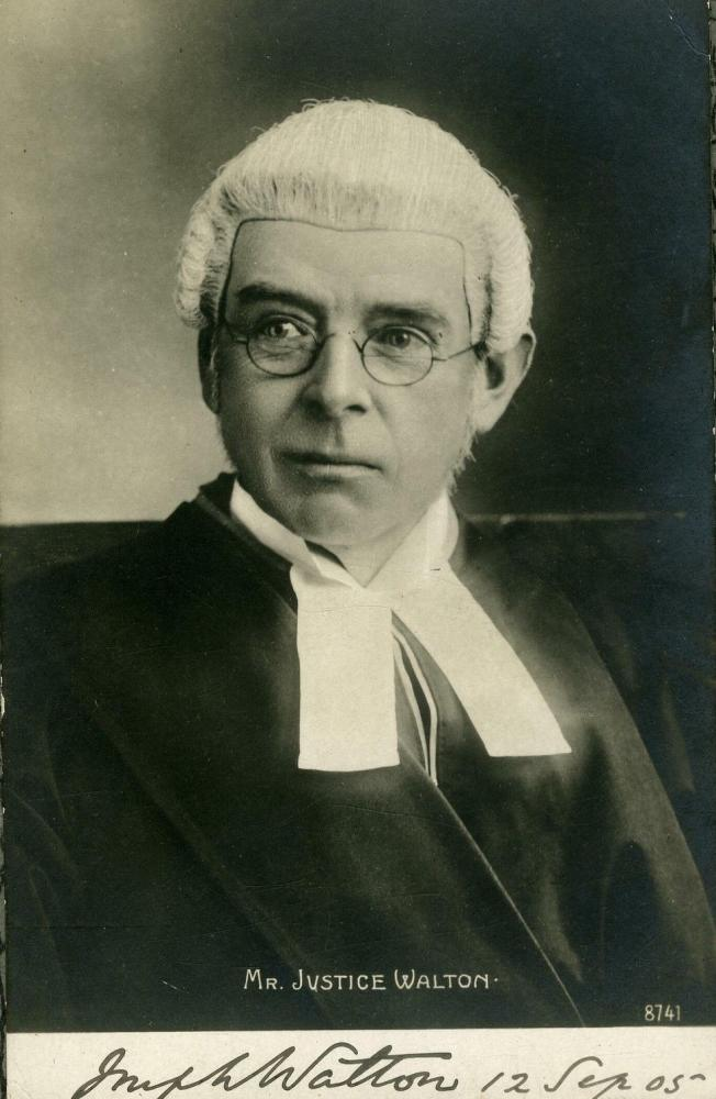 Mr Justice Walton Wigan Recorder