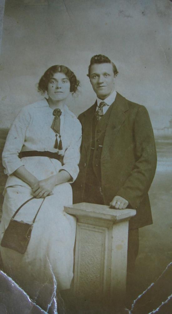 Vincent Bertie and Sarah Laithwaite (nee Hall)