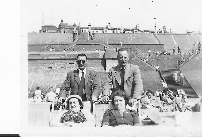 Critchley's and Halliwell's Blackpool early 1950s