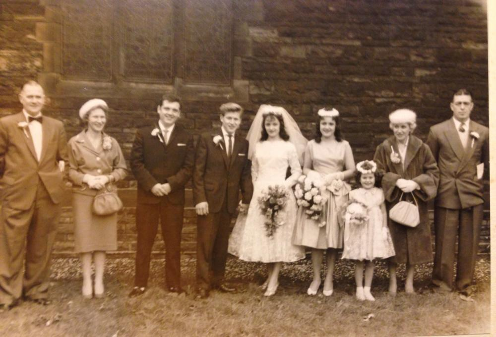 Marriage of Derek Finch and Jean Ormesher