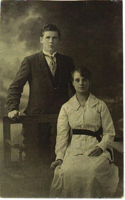 William and Agnes Howard, 1920.