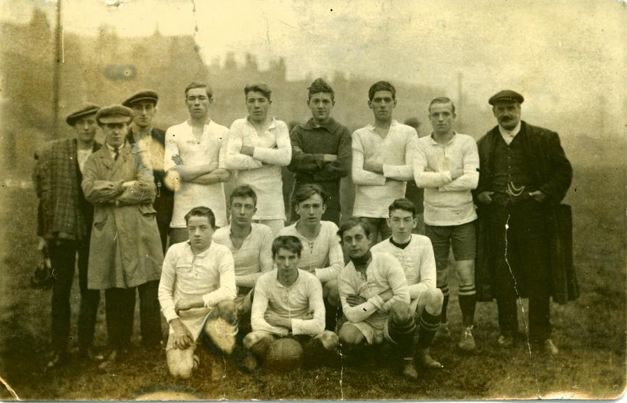 Richard Roughley's football team - Chapel.