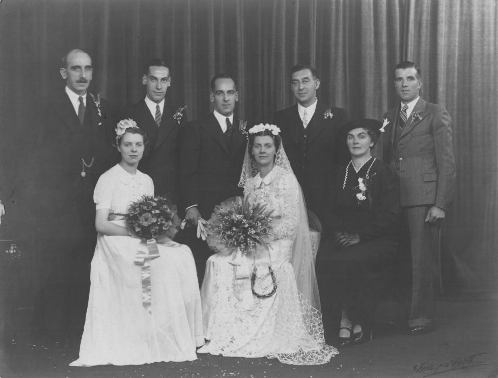Marriage of George Myers and Ethel Lithgow