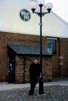 Anthony at Wigan Pier 1997