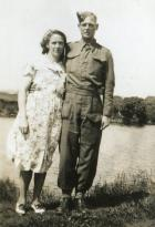 Jim Briscoe and his wife