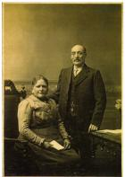 Jane Fairhurst and Edward Abrahams c1910-15