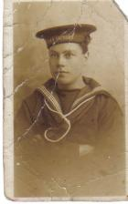 great grandad in his navy days