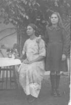 Ellen Santus with her mother