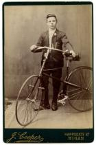 Bradley Wiggins's First Bike?