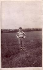 Michael in St. Josephs rugby kit. 1949.