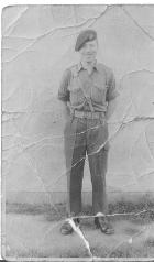 Uncle Ernie Hankin in the 1950s National Service