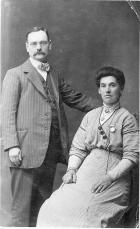George Forshaw and Wife Circa 1900s