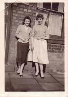 Jean Ormesher and Mary Gregory c1959