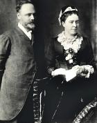 Maskell and Ann(ie) Peace c.1880's