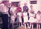 Stokes and Hankin Family circa early 1980s Afdter St Stephen's Whelley Walking Day