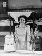 Annie Houghton's 21st birthday, July 1948.