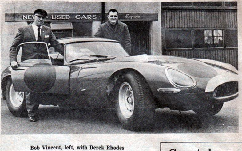 E Type Jaguar.