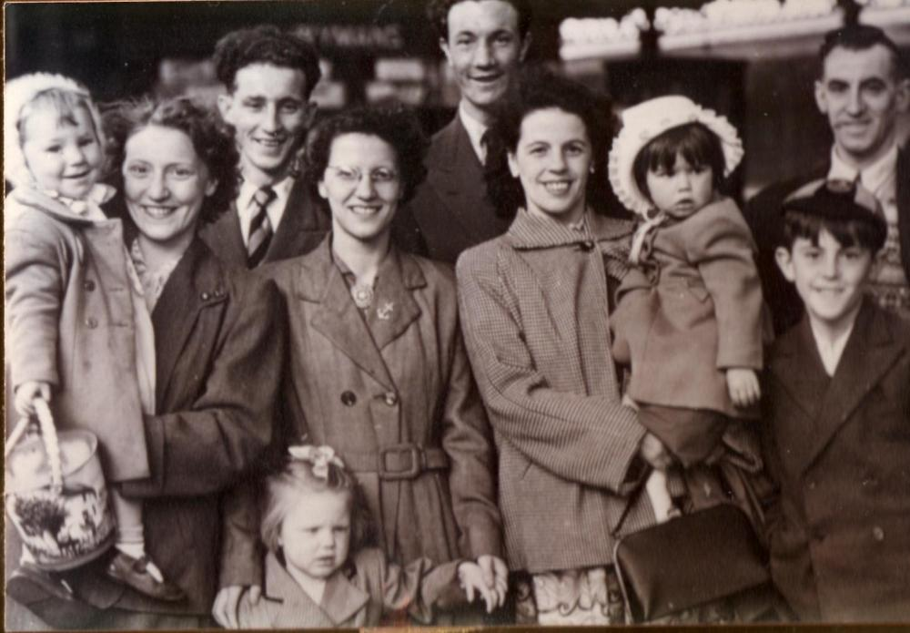 A day out to Blackpool about 1954