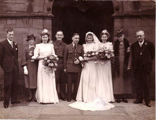Alf Swift's wedding