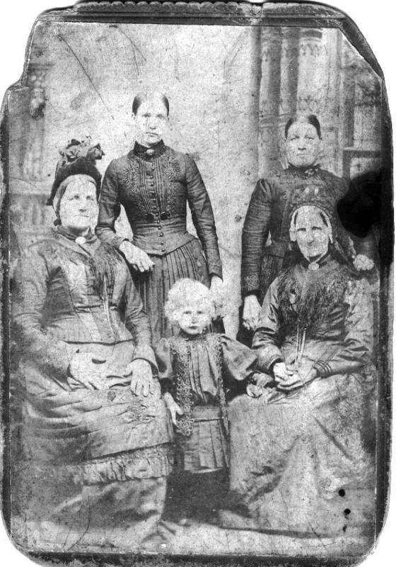 The 5 Generations, c1890.