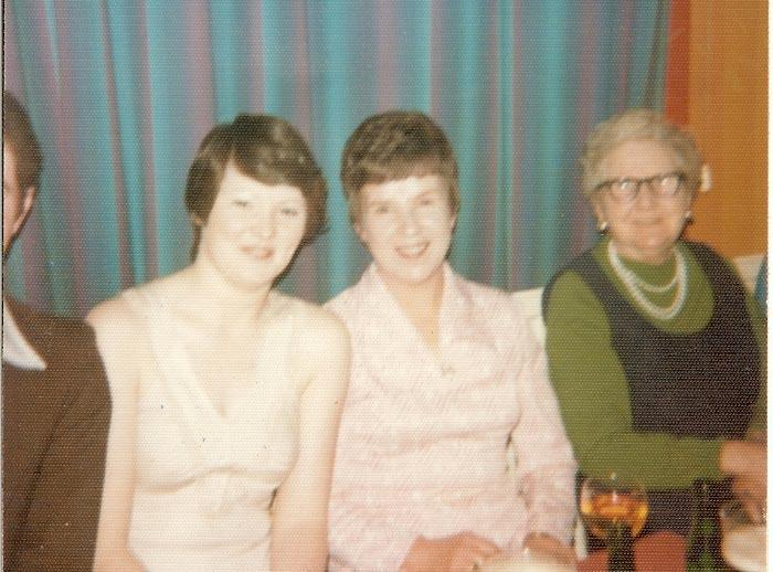 Siver Wedding at St Cuthberts Club 1973