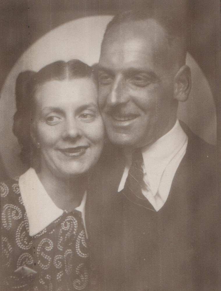 George Myers and wife Ethel (Lithgow)
