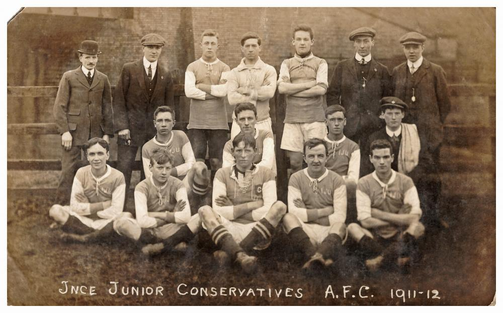 Ince Junior Conservatives AFC 1911-1912