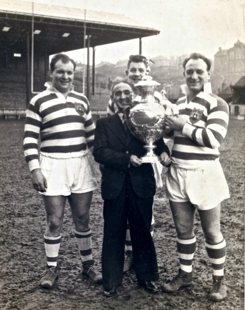 Challenge Cup Trophy 1958