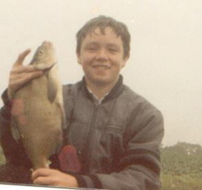 My son John in Arthur Edwards under 14s fishing match