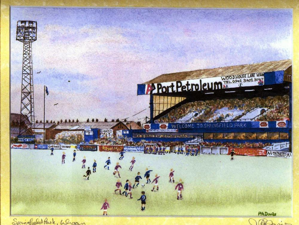 Painting, latics old ground.