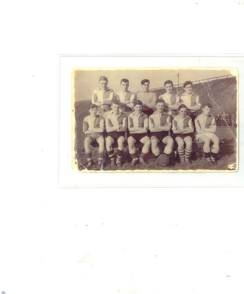 Stubshaw Cross Boys Team 1957 1958