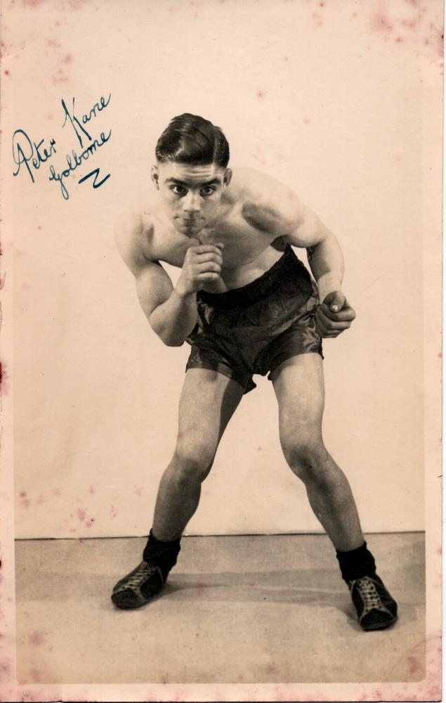 Peter Kane signed photo