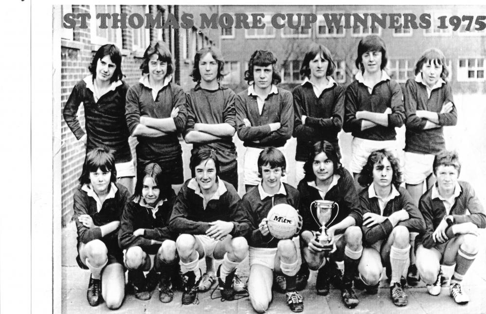 St Thomas More football team 4thYear 1975
