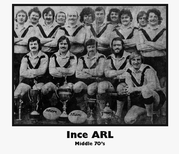 Ince Amatuer Rugby Leauge Club 1976/77