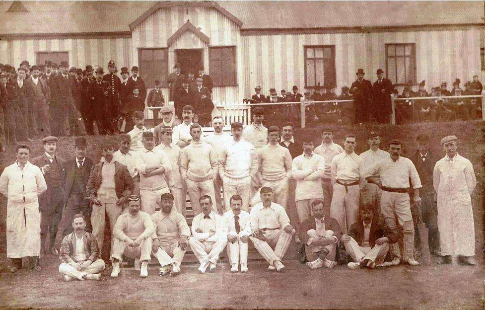 WCC - Opening of the Bull Hey ground 1898