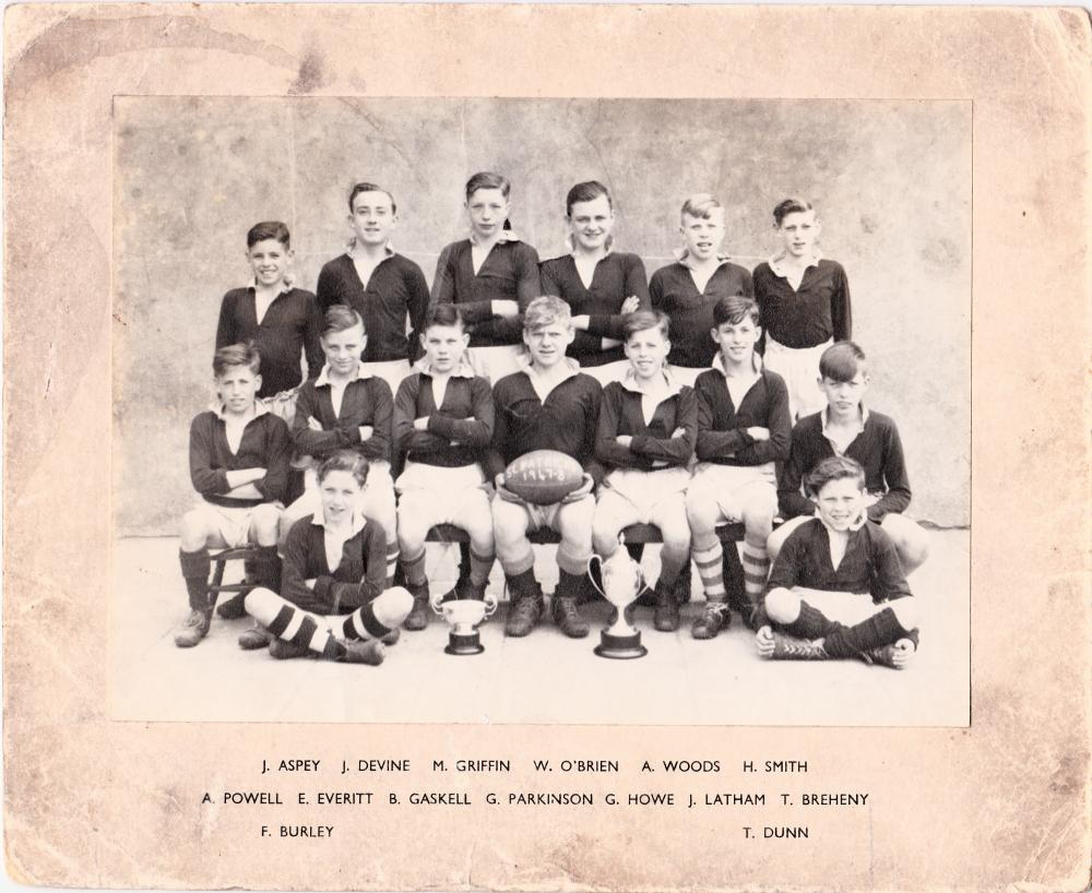 St Pat's Rugby Team 1947-48