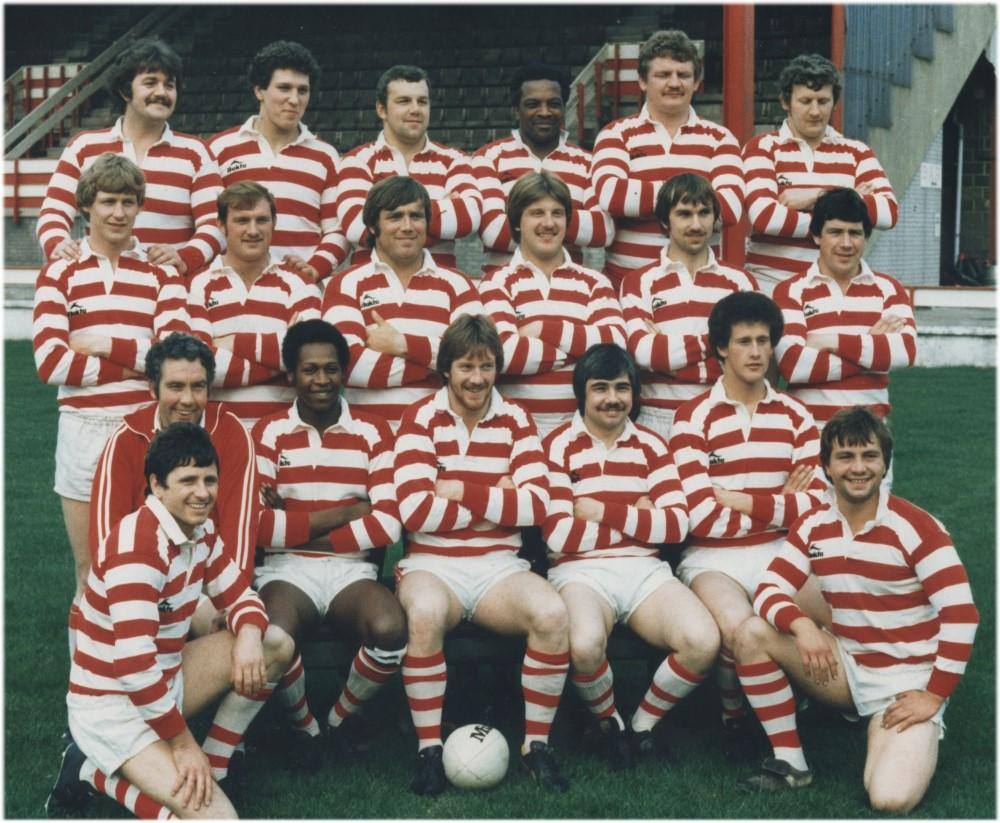 Wigan Rugby Team 1979-80