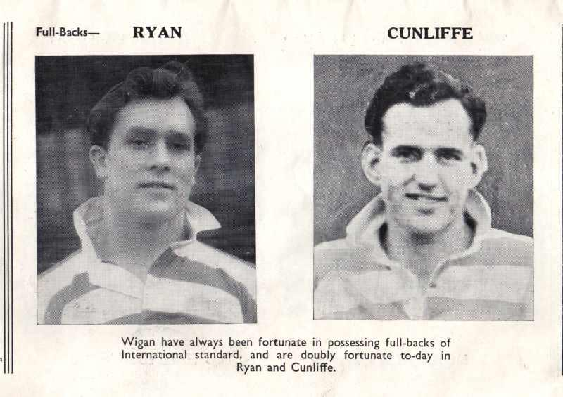 Full-backs Ryan and Cunliffe.