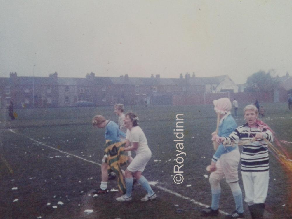 Wigan Wheelchair Fund Football Match 1984(Aprox)