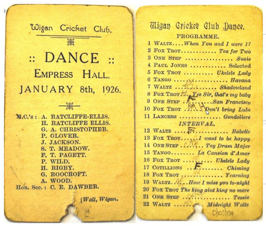 Empress Hall Dance