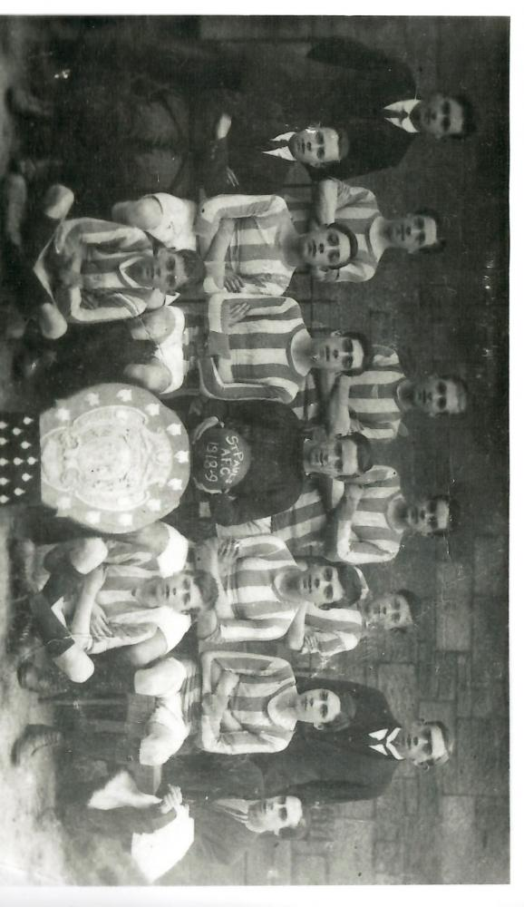 st pauls football team 1918-9