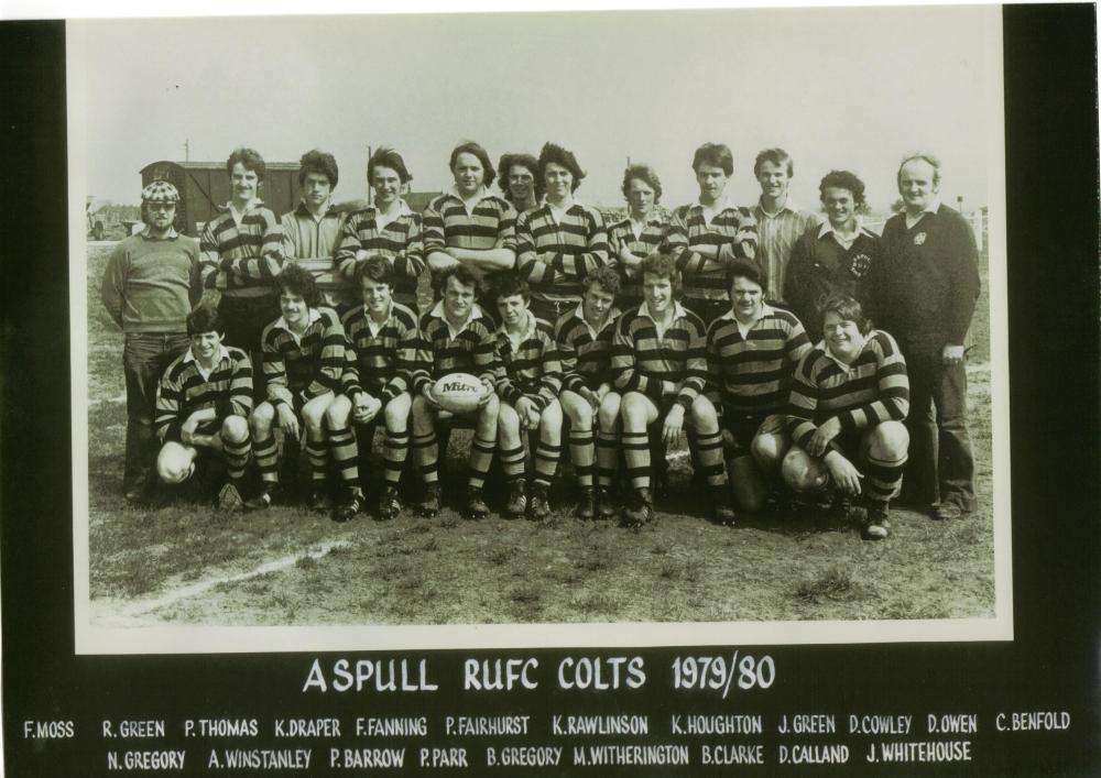 Aspull Rugby Colts sadly another one sadly passed away