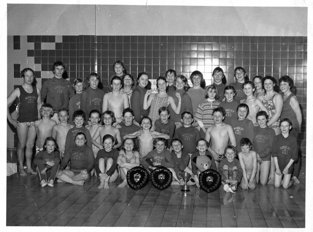 hindley swimming club mid 1970s