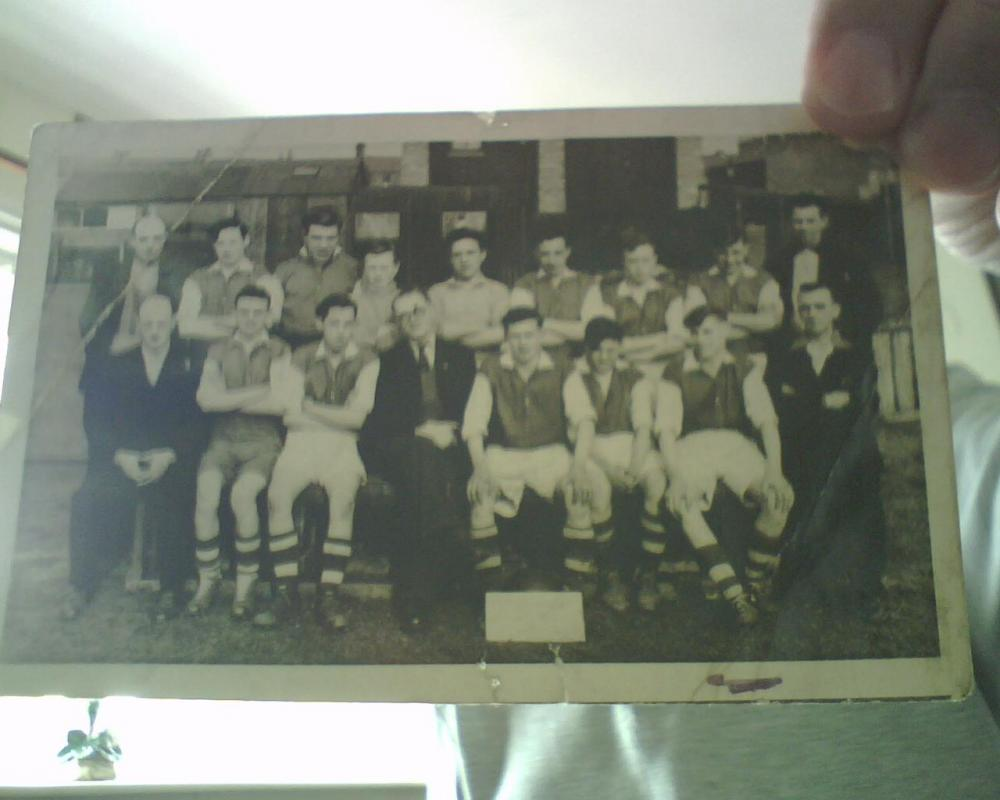 first boys club team 1952/53