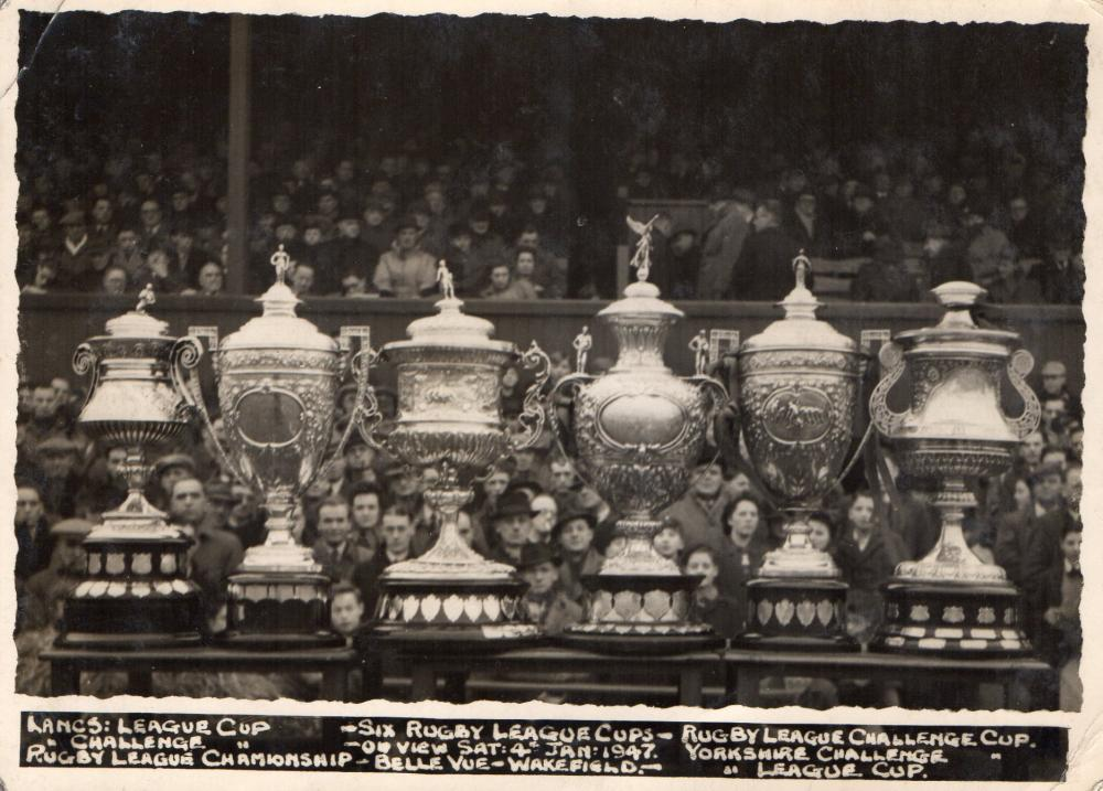 6 Rugby League Cups