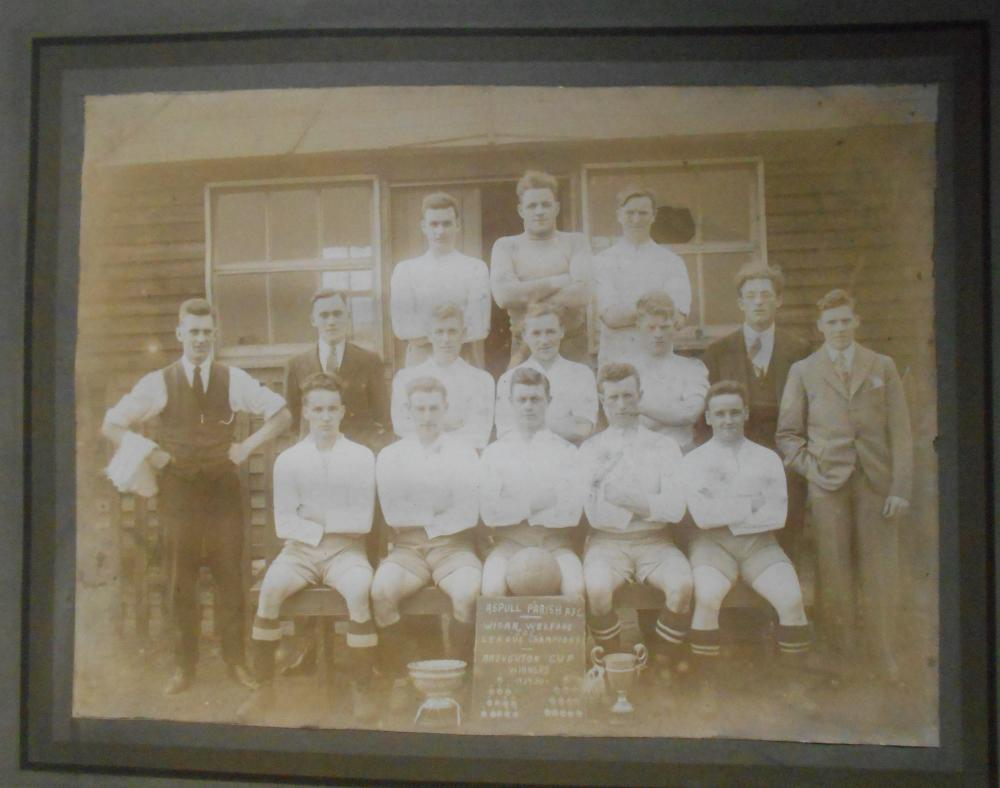 Aspull AFC League Champs Broughton Cup Winners 1929-30