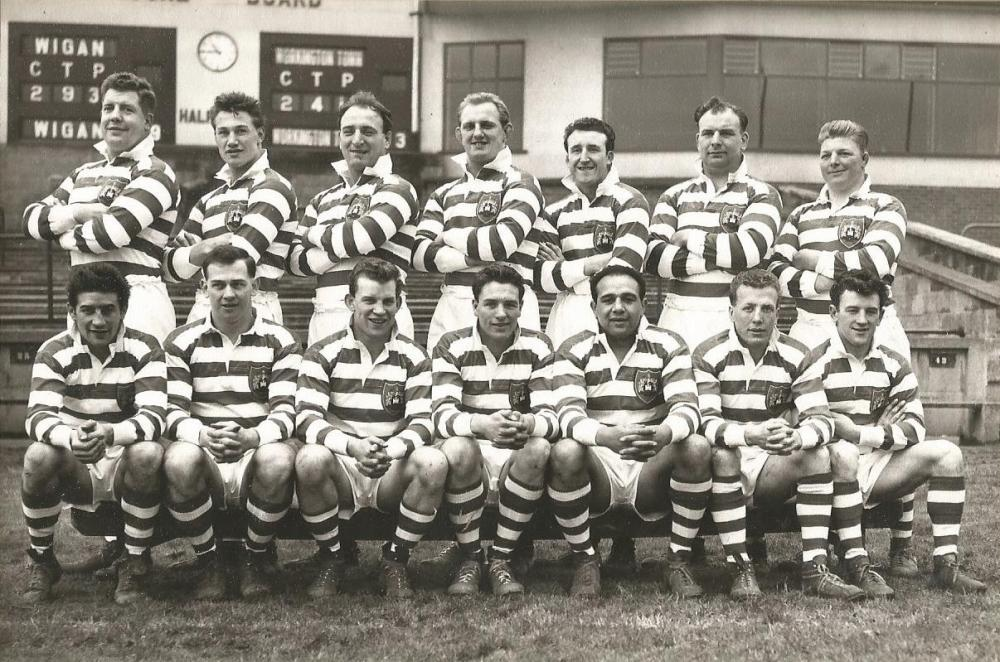 Wigan Rugby, Cup Winners 1959 against Hull