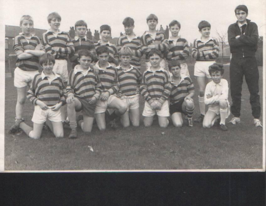 2nd Year Rugby Team 1968/9