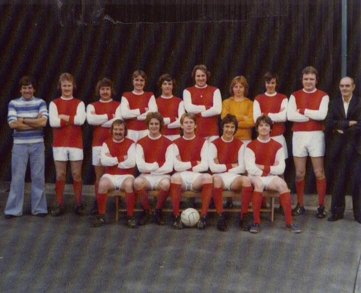 Our lady`s football team 1976-77